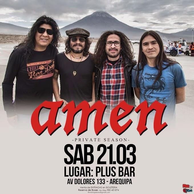 Amén en Arequipa - 21 de marzo