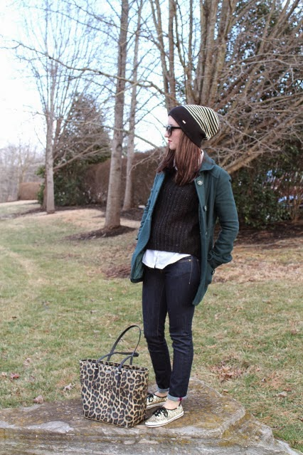 fall favorite, fall fashion 2014, cool weather outfits, cold weather outfits, kate spade fur jacket, peacoat, free people henley, kate spade jacket, leopard print jeans, red bow dress, kate spade cocktail dress