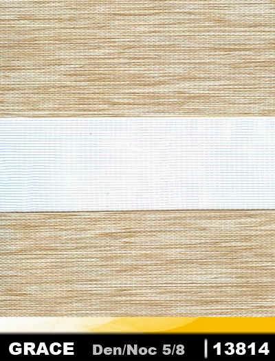 Rulouri textile duble Day & Night Grace 13814
