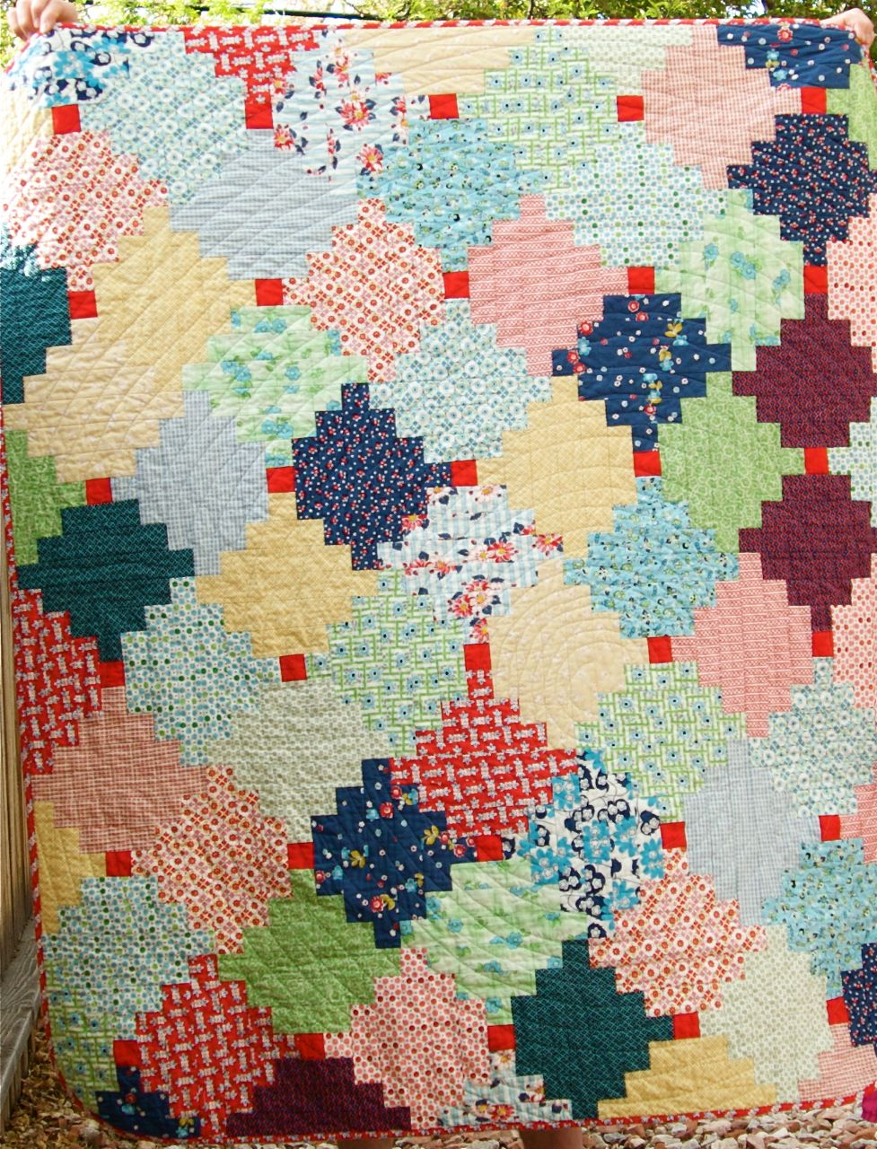 a quilt is nice: courthouse steps quilt : courthouse quilt pattern - Adamdwight.com