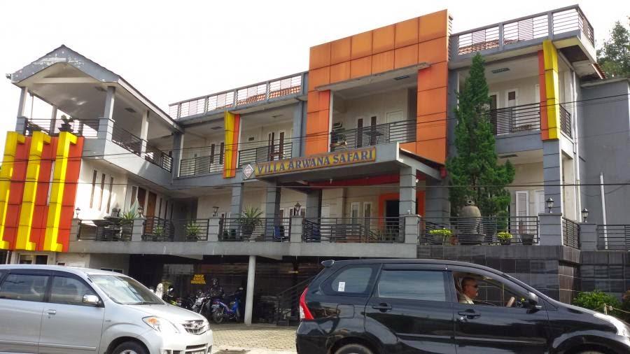 hotel arwana puncak