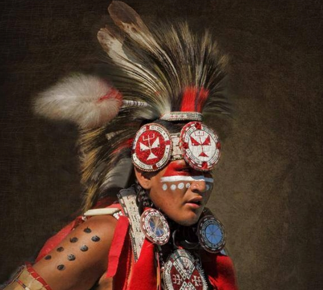 White Wolf : Sacred Meaning of Indigenous Face Paints: 22 Painted ...