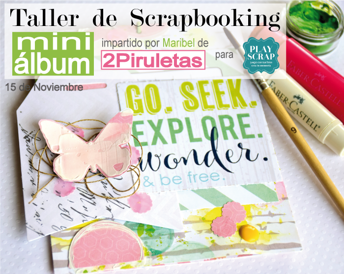 Taller Scrapbooking en Play Scrap