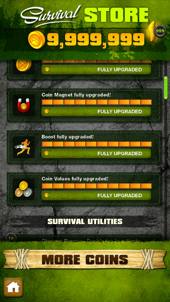 Survival Run With Bear Grylls Armv6 Including Unlimited GOLD Coins.