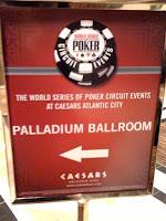 Travel Report: WSOP-C Atlantic City, Day 2