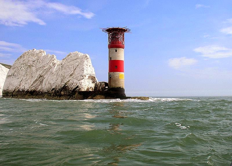 Needles lighthouse, England