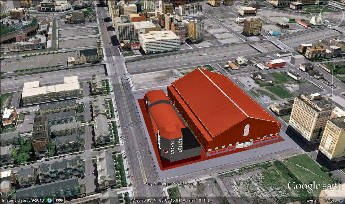 New Detroit Red Wings Arena 11