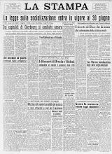 LA STAMPA 28 GIUGNO 1944