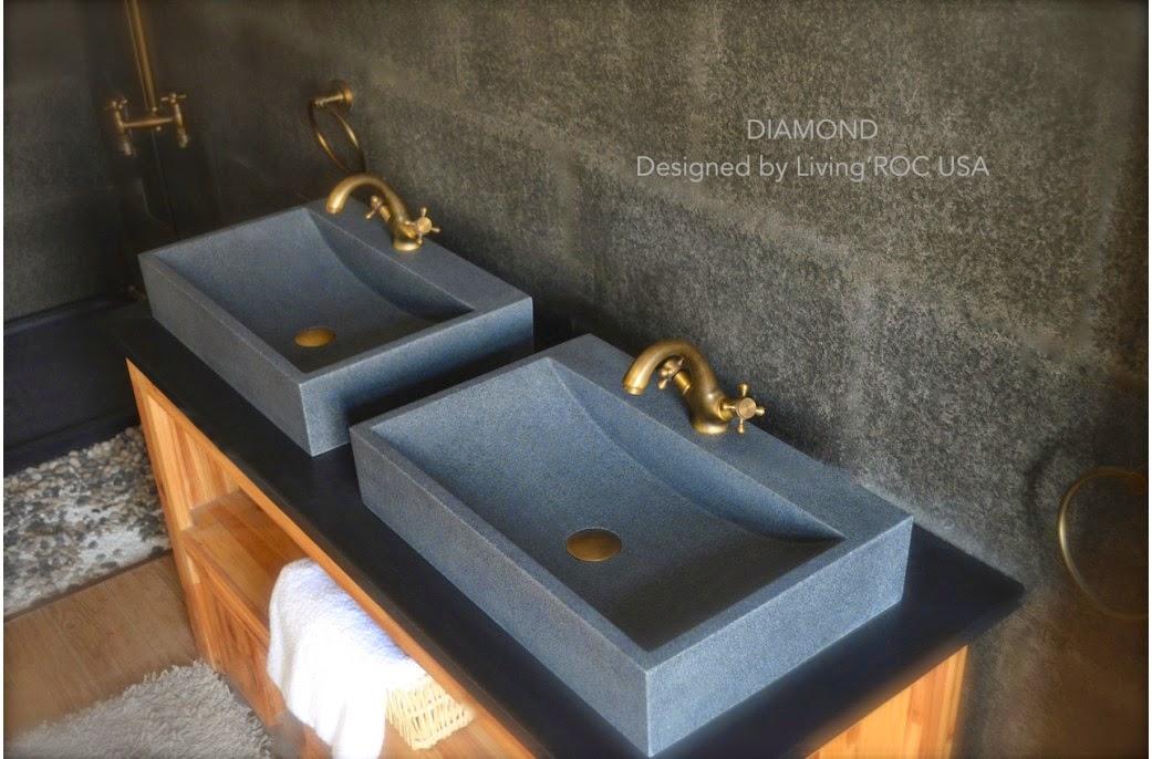 LivingRoc USA The Blog OUTSTANDING NATURAL STONE BATHROOM