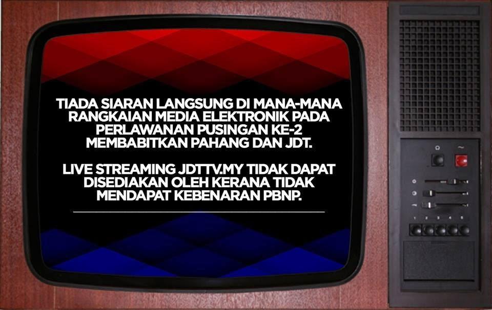 Pahang Vs JDT Piala FA 2 Mac 2015