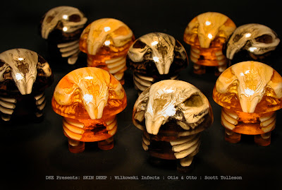"Skin Deep Custom Resin Figures by Scott Wilkowski - Scott Tolleson's ""Otis & Otto"""