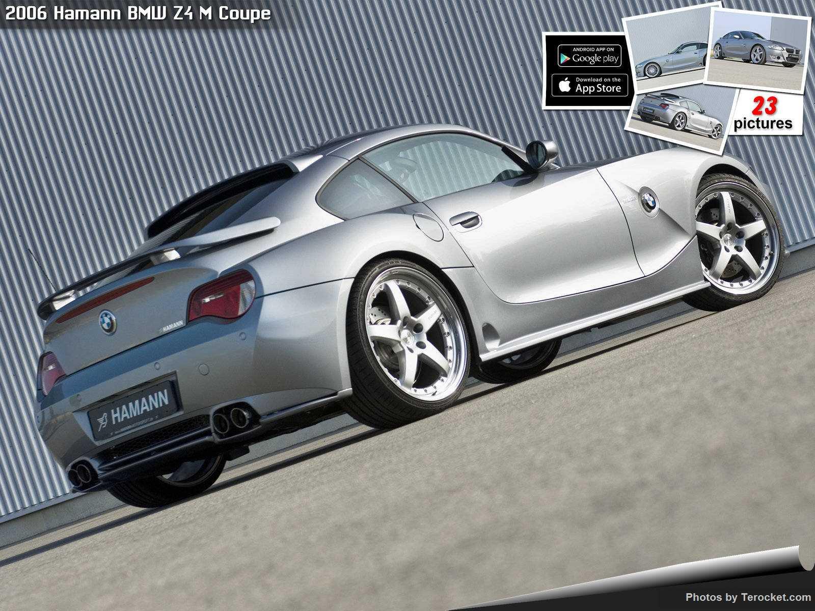 Hình ảnh xe ô tô Hamann BMW Z4 M Coupe 2006 & nội ngoại thất