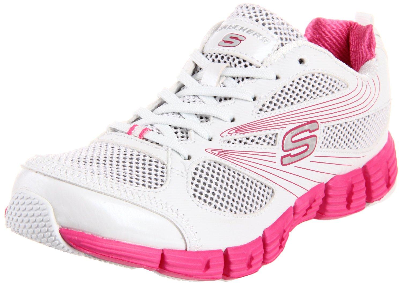 Skechers Womenu0026#39;s Stride Fashion Sneaker White Pink Sneakers Shoes ~ Sneakers Shoes Lovers