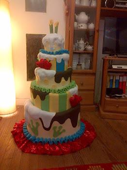 Torta de cumpleaños Poing-Poing