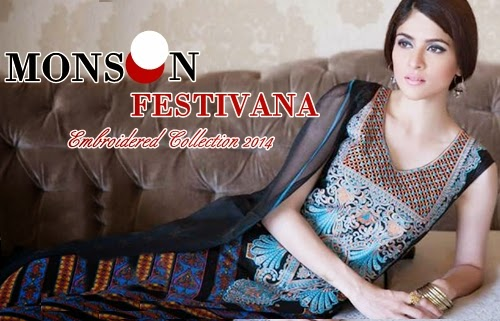 Monsoon Festivana Lawn 2014