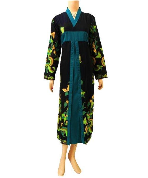 Dress Gamis Batik Dbg158  Butik Batik Solo