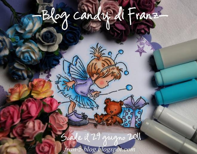 blog candy di Fran'z