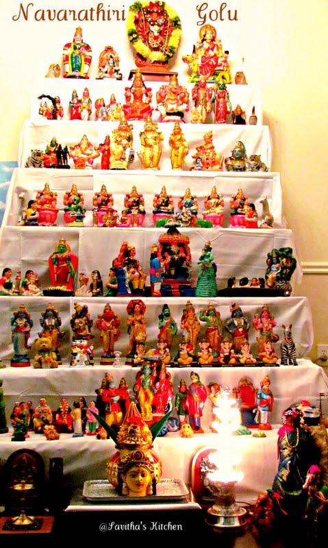 Savitha 39 S Kitchen Navarathri Golu A Detailed Post About The Custom Of Displaying Dolls During