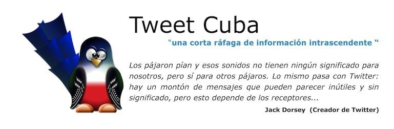 Tweet Cuba