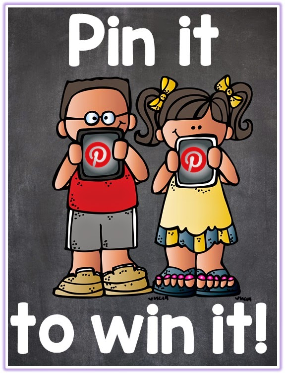 Pin it to win it with Clever Classroom four $25 TpT gift certificates up for grabs!