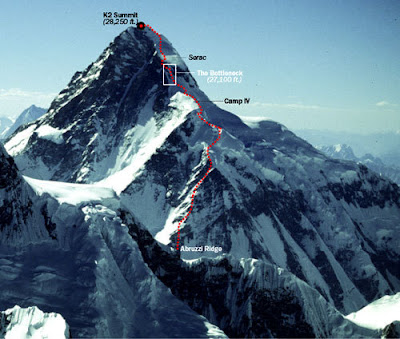 K2 Mountain Map Hiking and Climbing Adventures: Climbing K2 Video + Ueli Steck Climbs ...