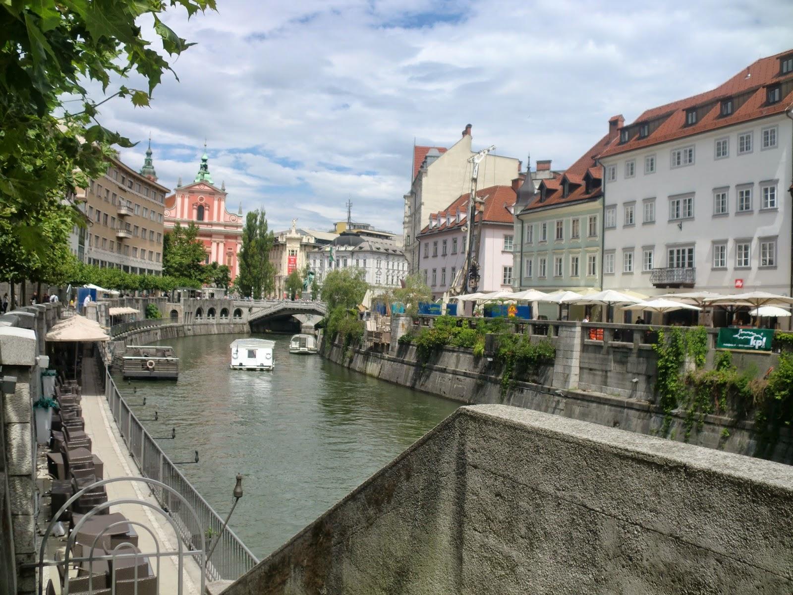 mooie stad slovenie