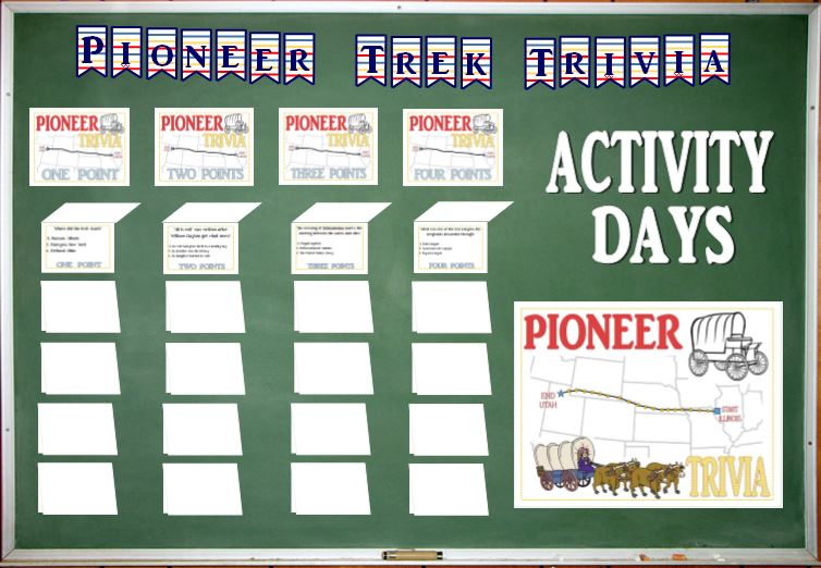 Pioneer Trivia - Learning and Living The Gospel