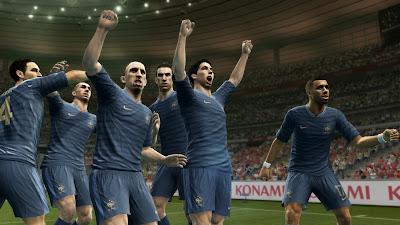 PES 2013 | France celebrations
