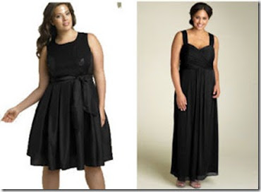 Vestidos de noche para mujeres de espalda ancha
