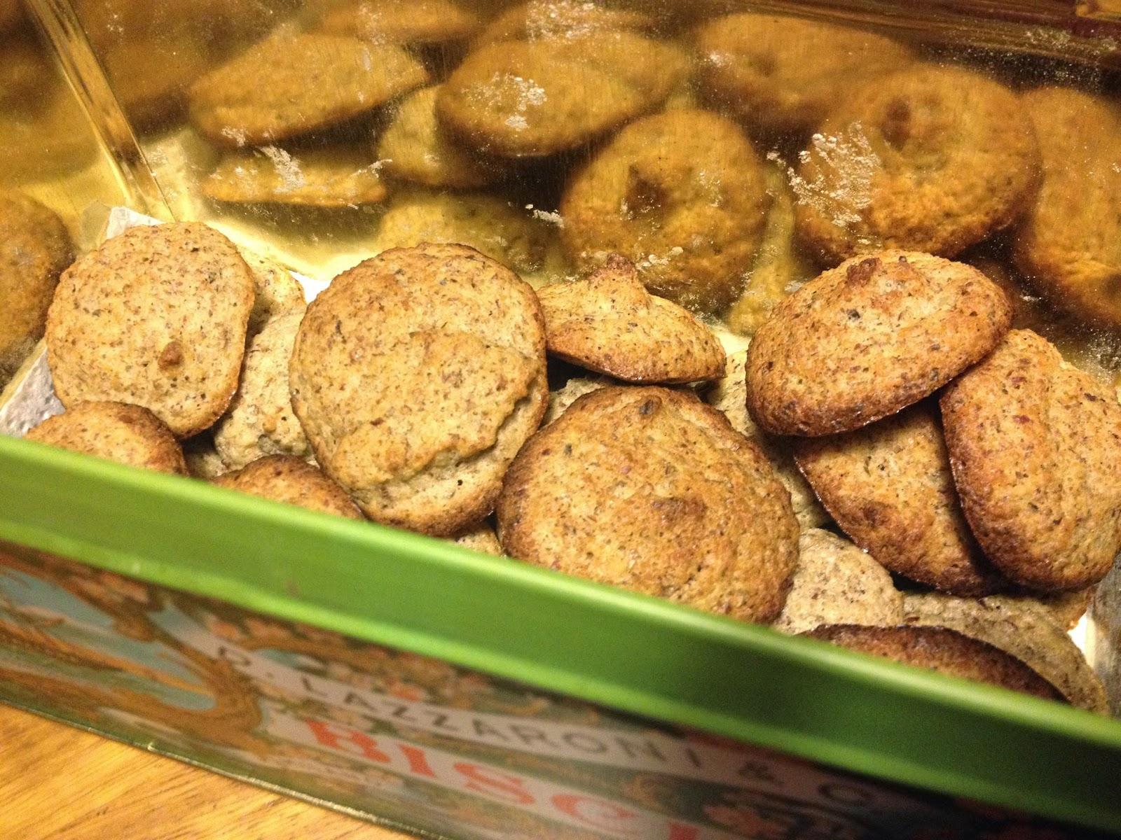 biscotti di frutta secca e agave!