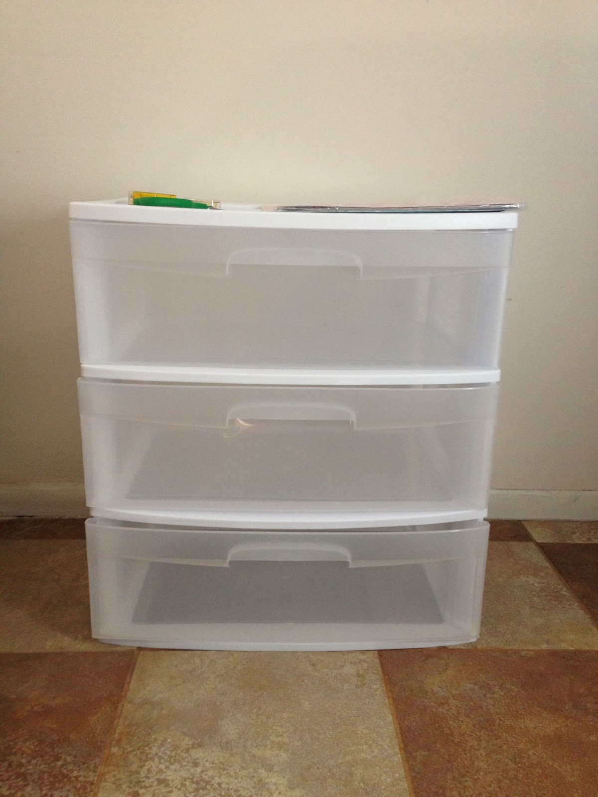 Plastic 3 Drawer Chest ~ Simply pirational dressing up my dresser