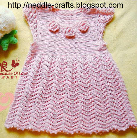 dress for baby girl you can do it yourself coz you got the pattern ...