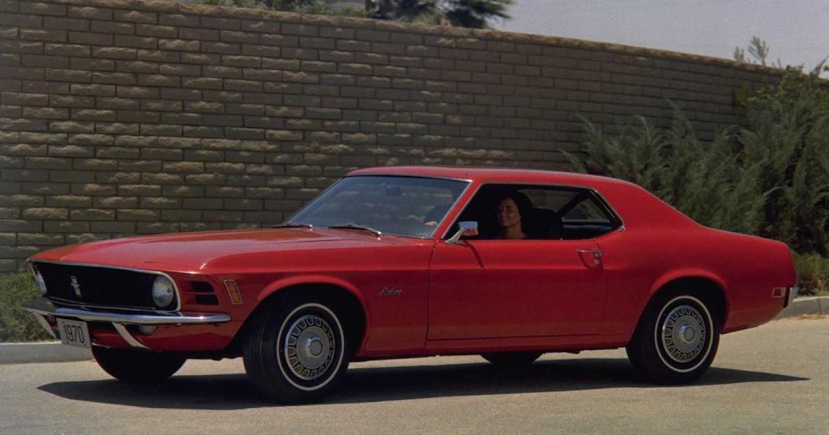 Coche Antiguo Ford Mustang De 1970 Fondos Pantalla Coches