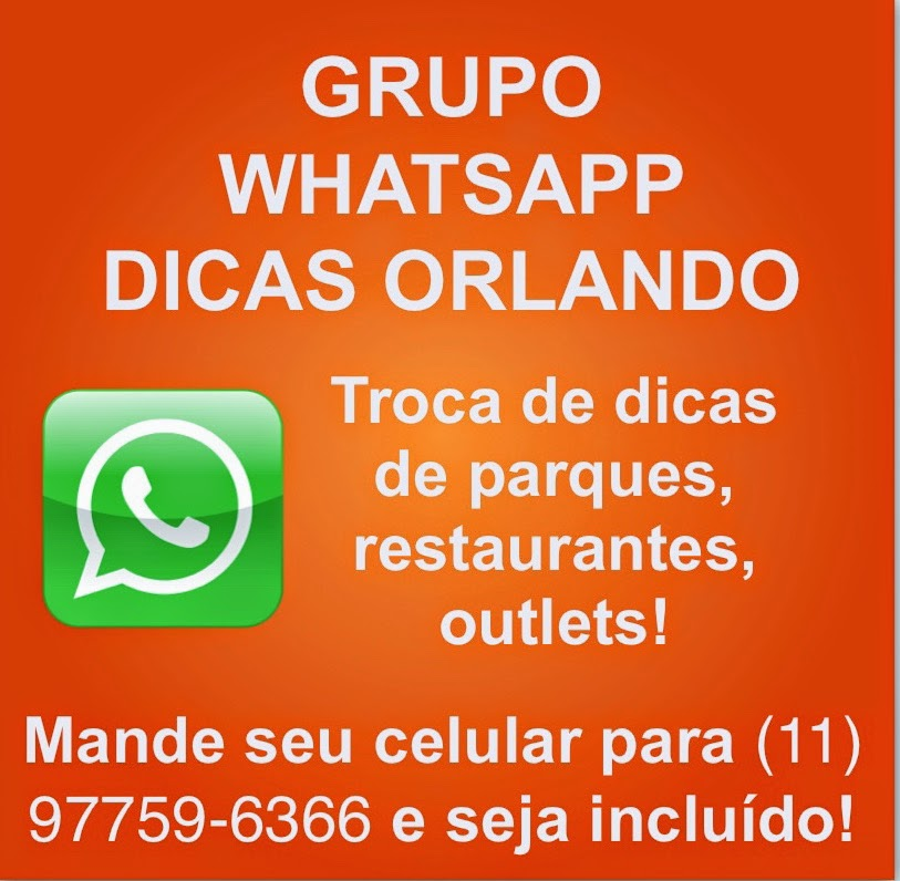 PARTICIPE DO MAIOR GRUPO DE ORLANDO!
