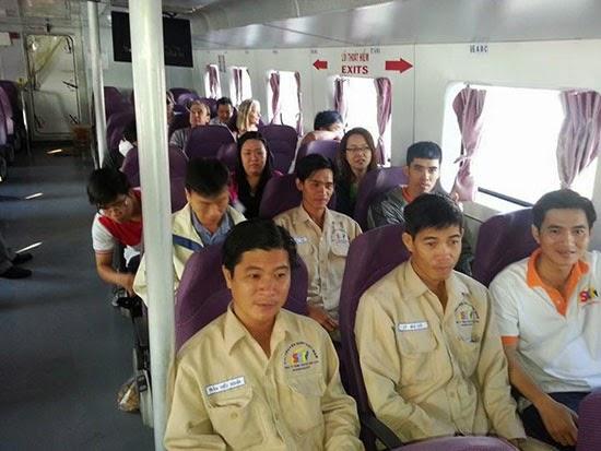Chi nhánh 6 tổ chức tiếp thị tại Phú Quốc