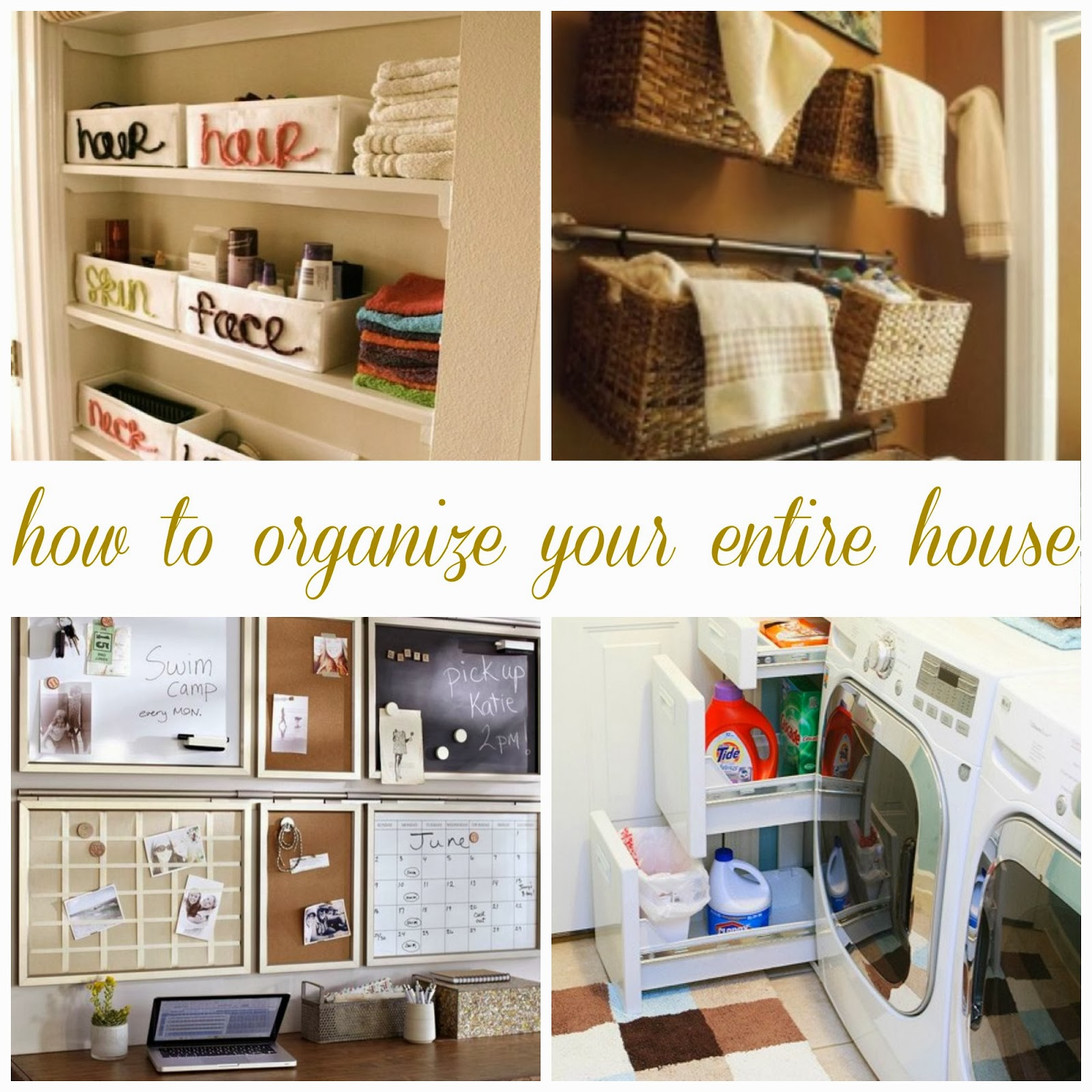 All things katie marie how to organize your entire house Organizing your home
