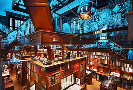 la pi grande biblioteca privata del mondo