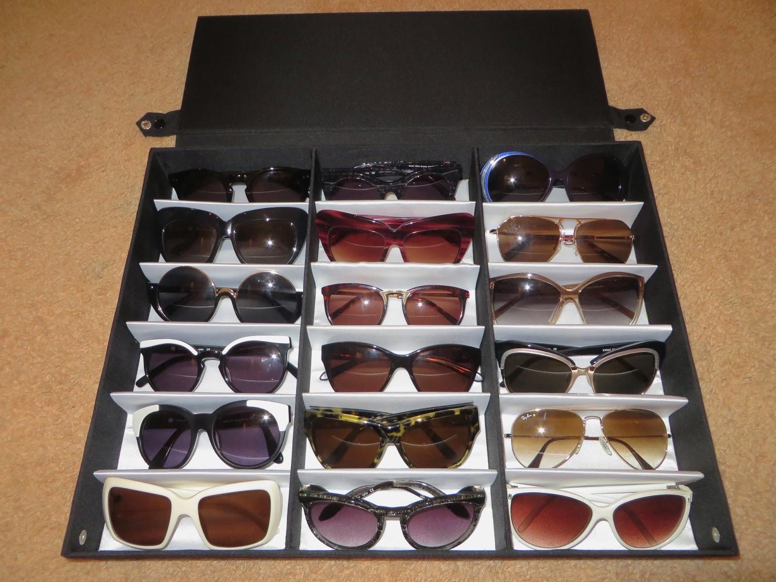Delicieux Sunglasses Storage