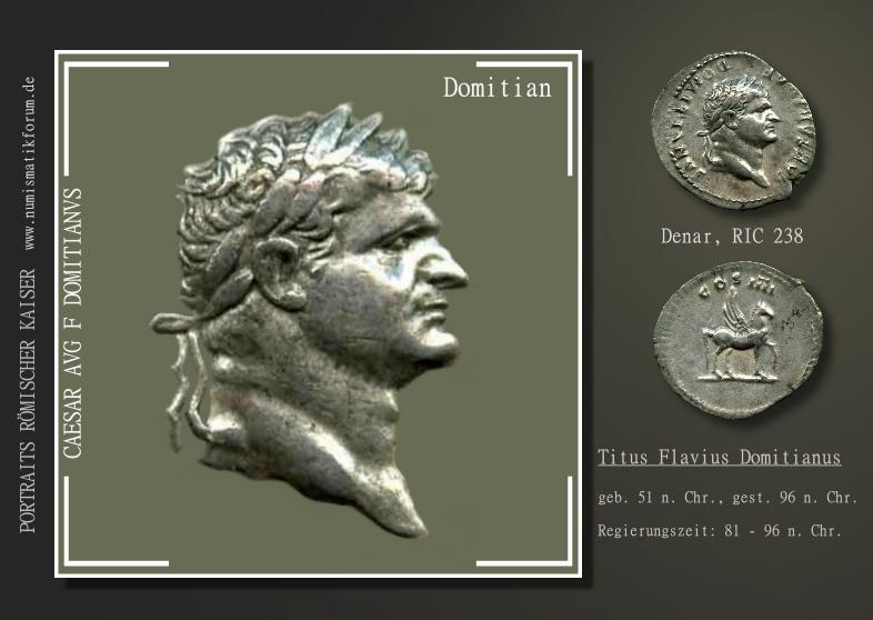 Römische Kaiserportraits Auf Münzen Informationen
