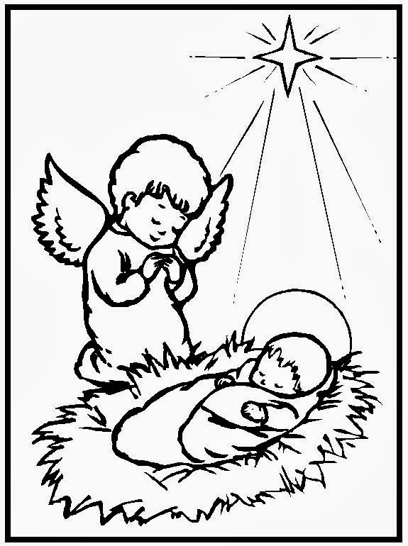 BLOG CATÓLICO NAVIDEÑO: IMÁGENES DEL NIÑO JESÚS PARA COLOREAR