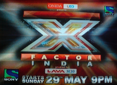 X Factor India on Sony TV