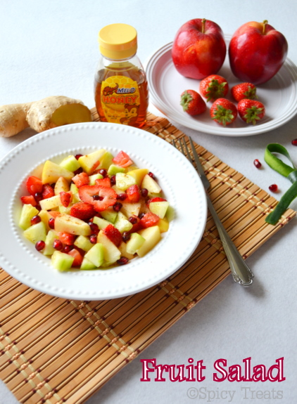 Zesty Lime And Ginger Winter Fruit Salad Recipe — Dishmaps