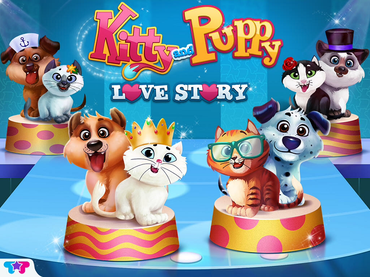 Kitty & Puppy: Love Story App iTunes App By Kids Fun Club by TabTale - FreeApps.ws