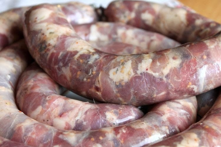 Как сделать кровяную колбасу из свинины