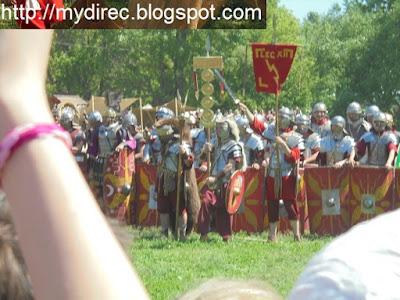 Боевое построение легионеров