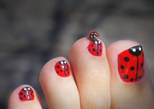 pintados de uñas delos pies | Cristina