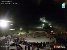A Domobianca in Val d'Ossola si scia di notte