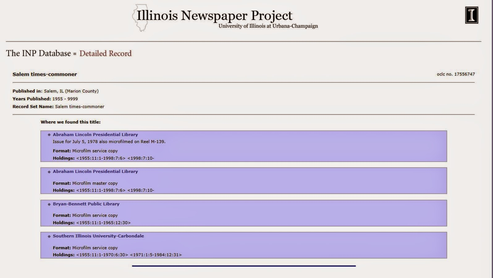 Illinois marion county salem - Http Www Library Illinois Edu Inp Results_full_public