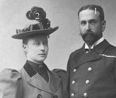 Prince et princesse Louis de Battenberg