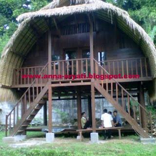 rumah kayu, anna gallery, tangerang